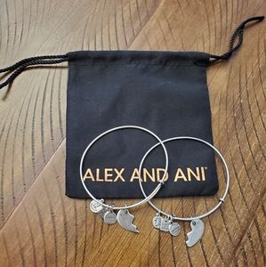 Alex and Ani bracelet set- Best Friends